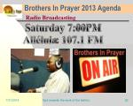 brothers in prayer 2013 agenda26