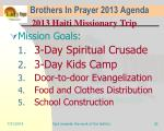 brothers in prayer 2013 agenda29