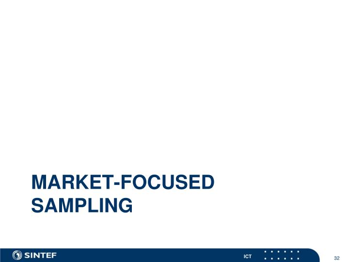 Market-focused Sampling