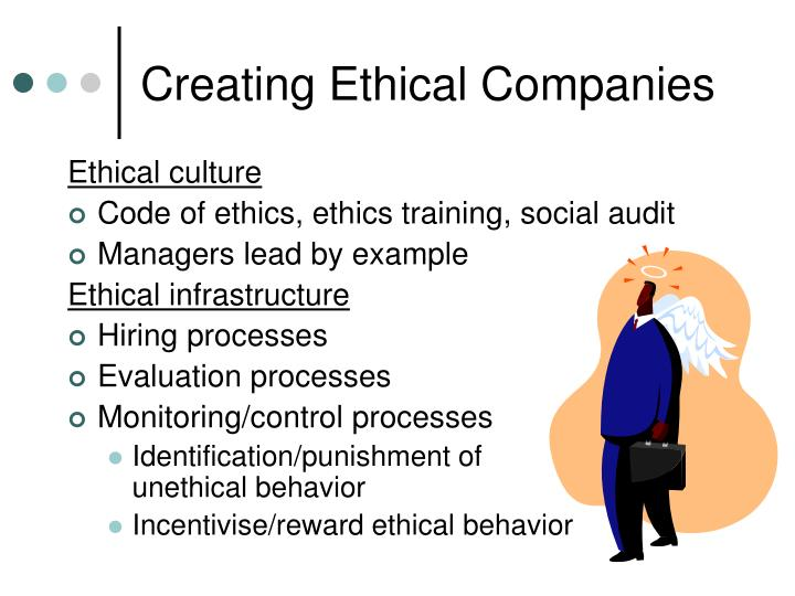 Creating Ethical Companies