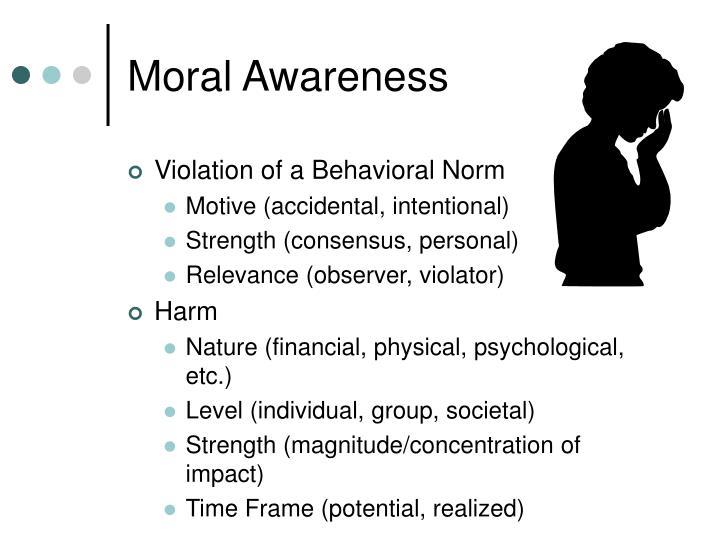 Moral Awareness
