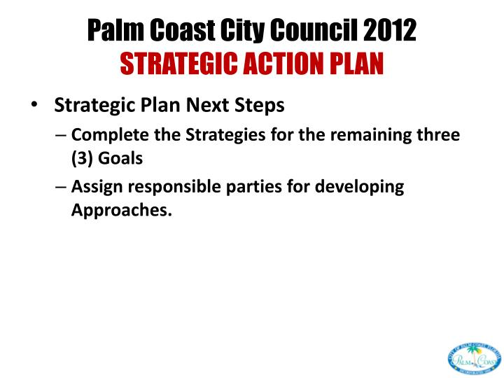 Palm Coast City Council 2012