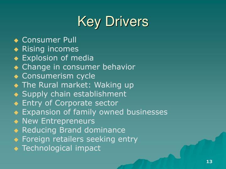 Key Drivers