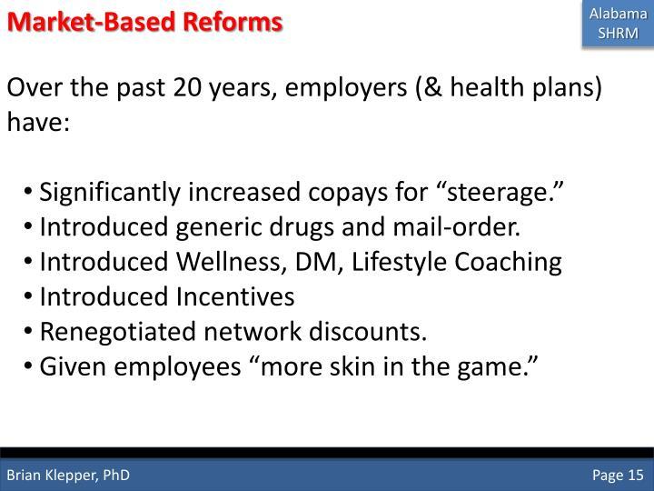 Market-Based Reforms