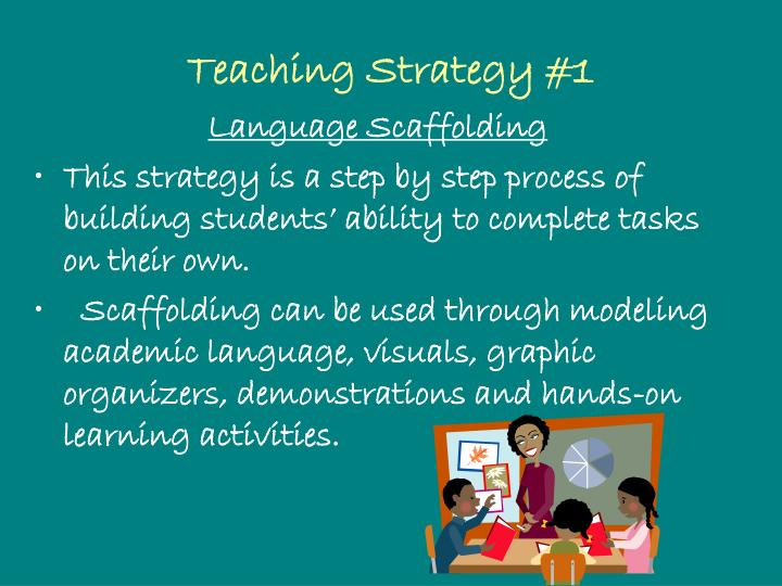 Teaching Strategy #1