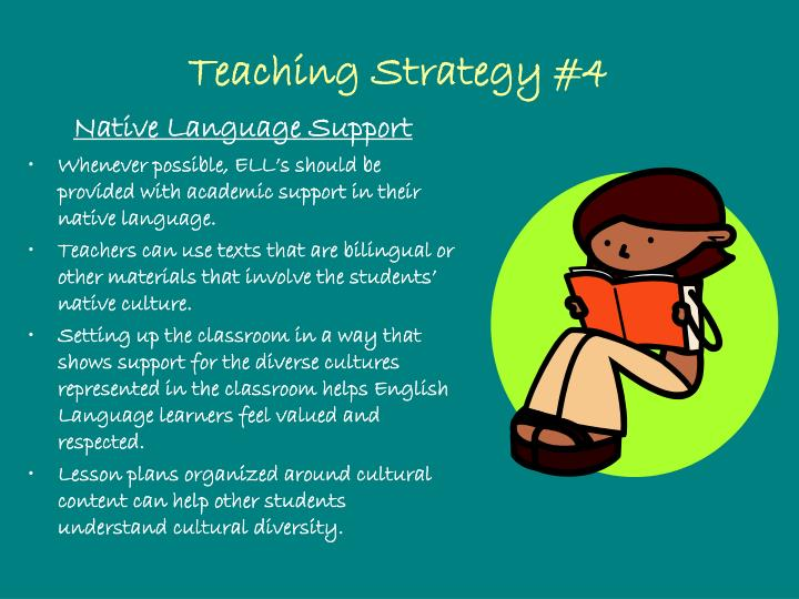 Teaching Strategy #4
