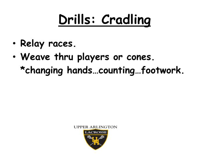 Drills: Cradling