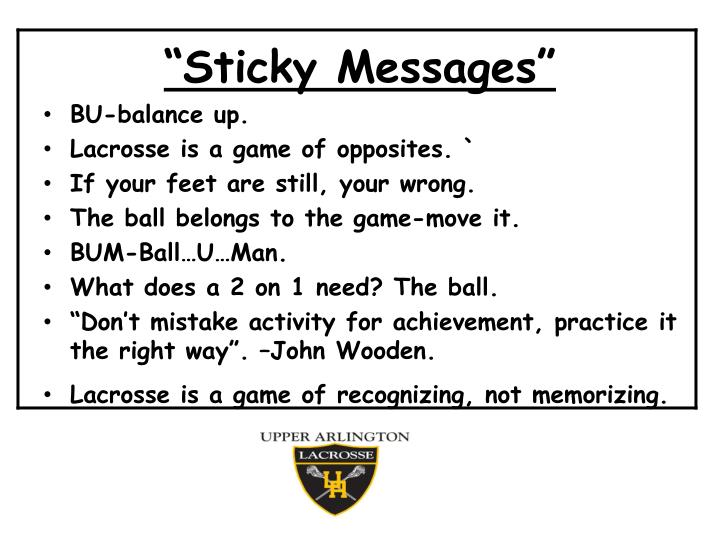 """Sticky Messages"""