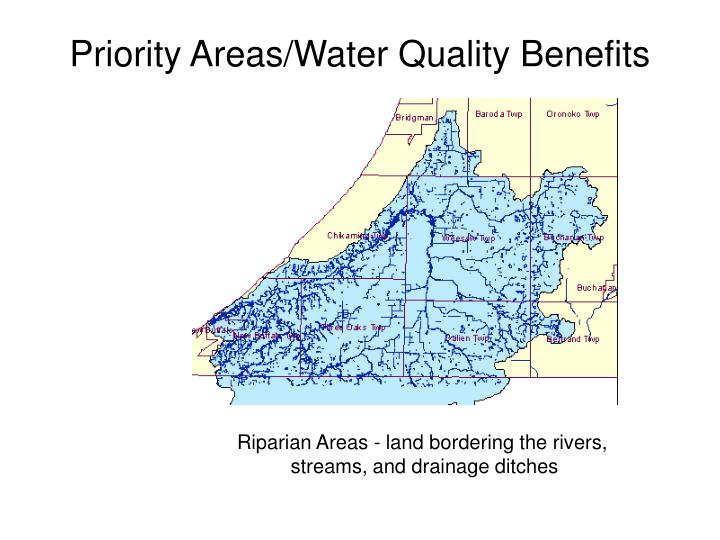 Priority areas water quality benefits2