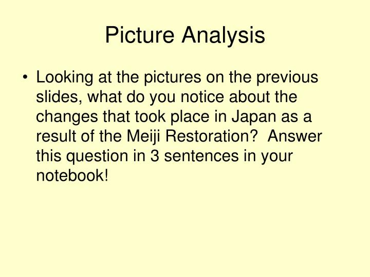 Picture Analysis