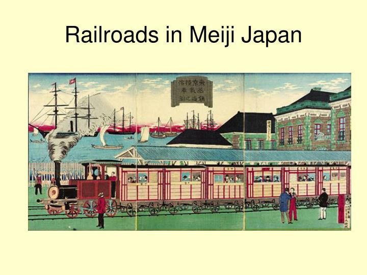 Railroads in Meiji Japan