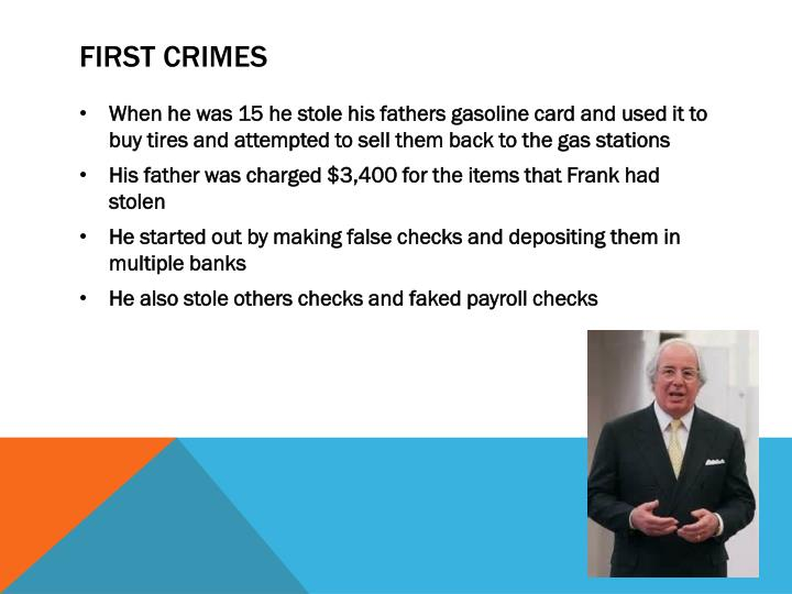First crimes