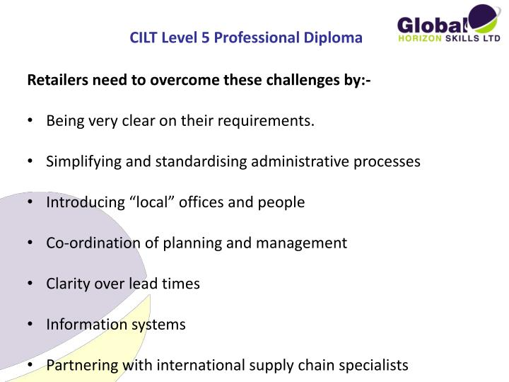 CILT Level 5 Professional Diploma