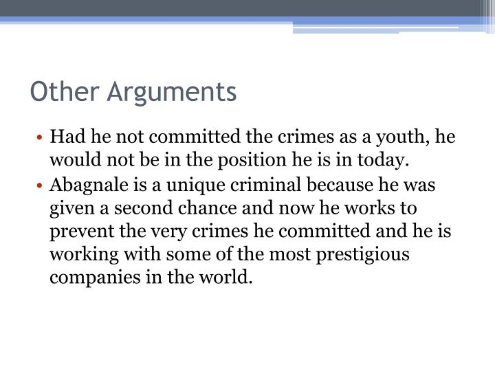 Other Arguments