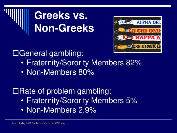 Greeks vs.