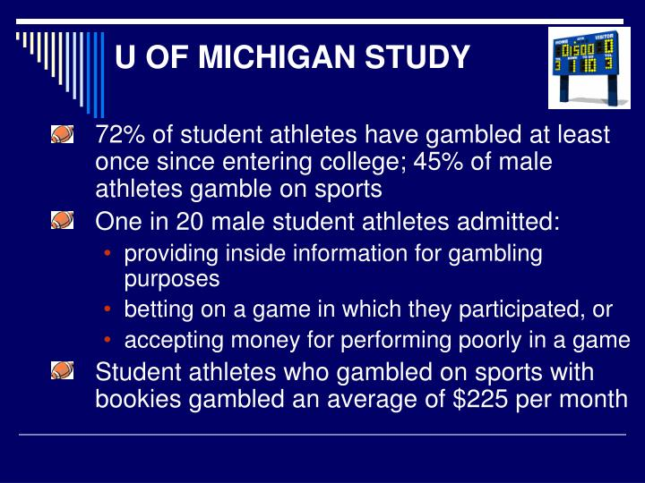 U OF MICHIGAN STUDY