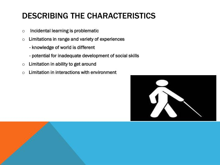Describing the Characteristics