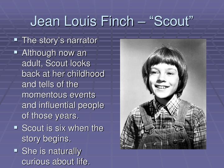 """Jean Louis Finch – """"Scout"""""""