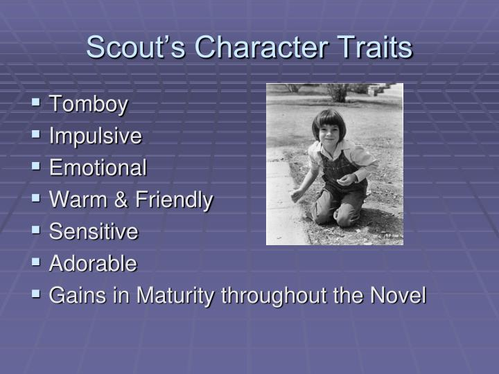 Scout's Character Traits