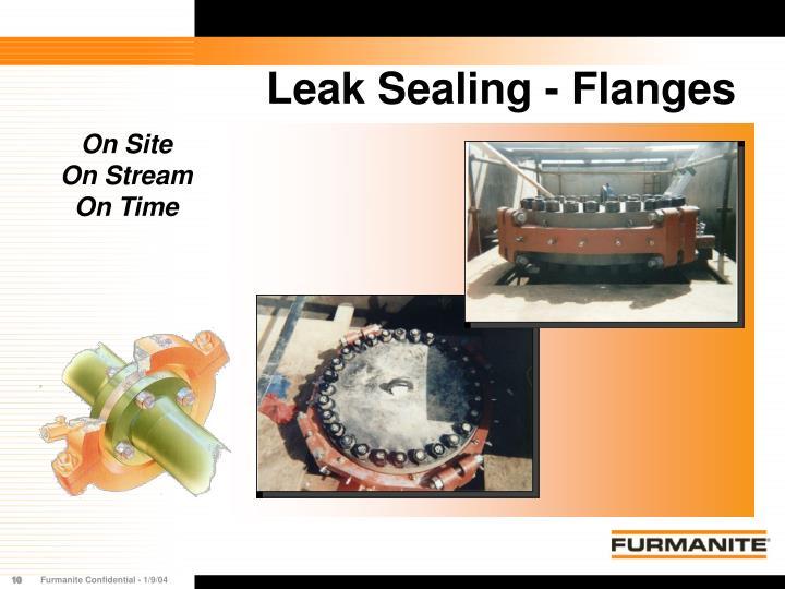 Leak Sealing - Flanges