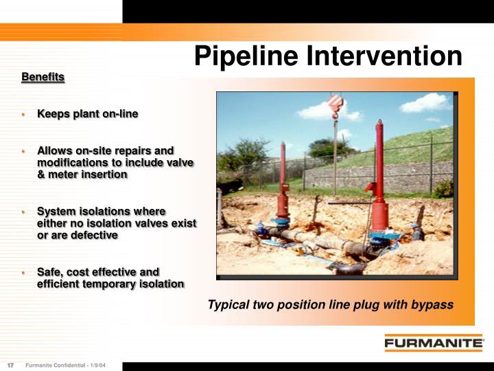 Pipeline Intervention