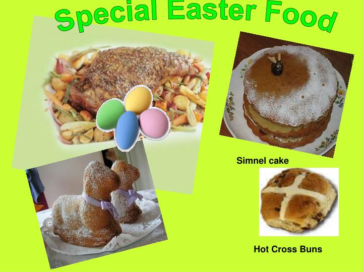 Special Easter Food