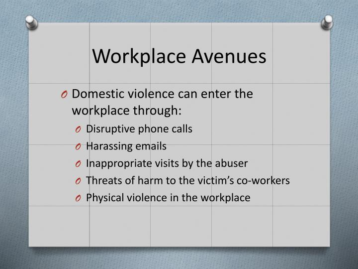 Workplace Avenues