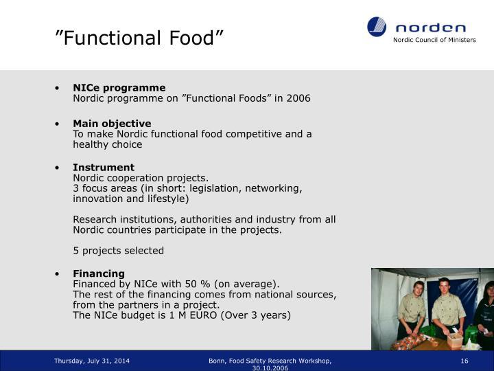 """""""Functional Food"""""""