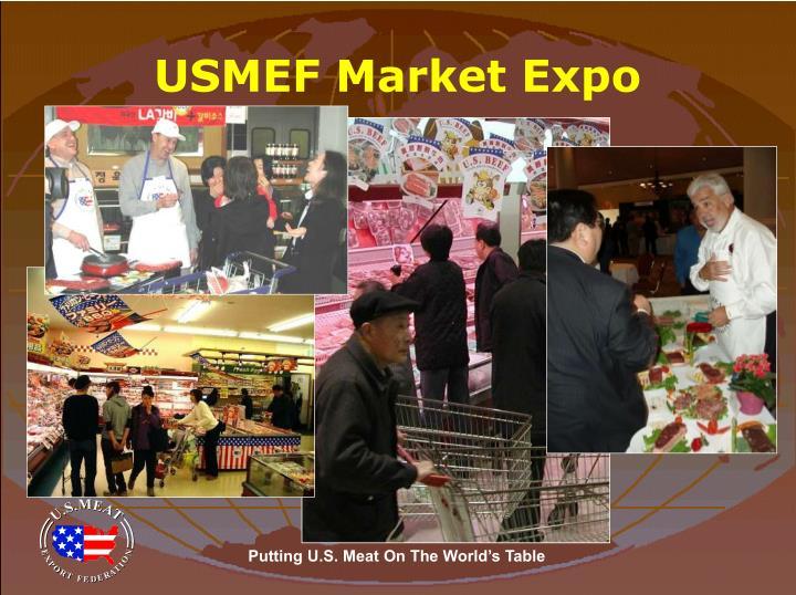 USMEF Market Expo