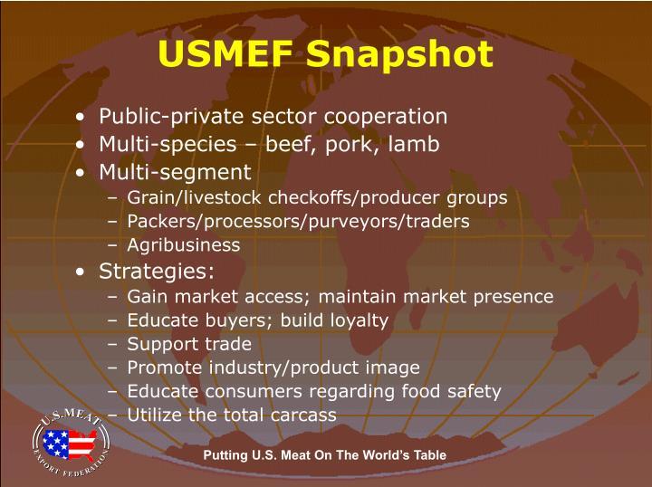 USMEF Snapshot
