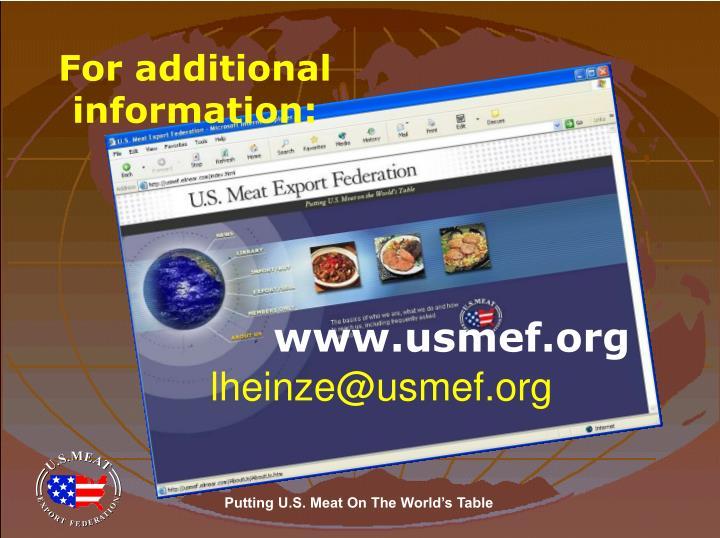 www.usmef.org