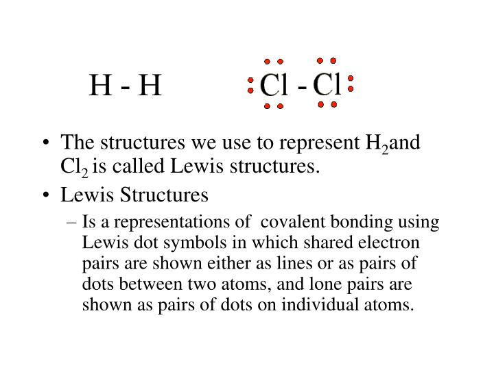 The structures we use to represent H