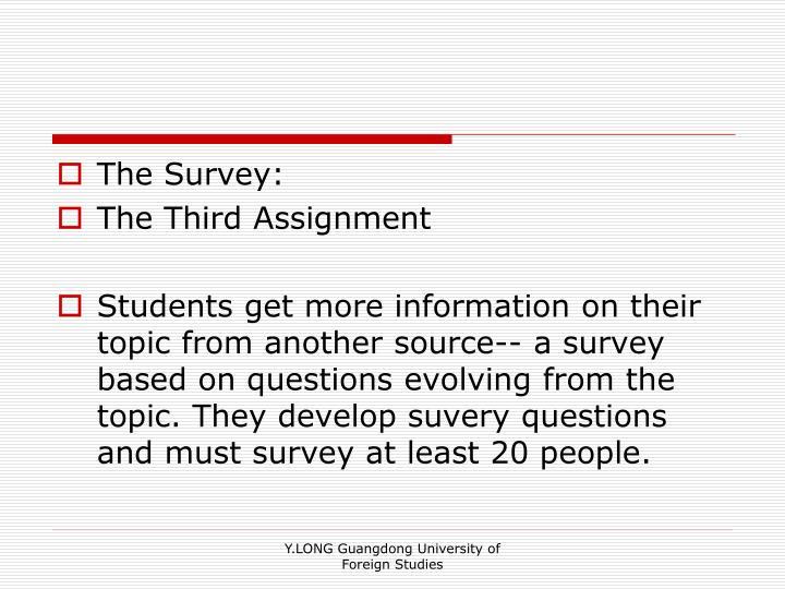 The Survey:
