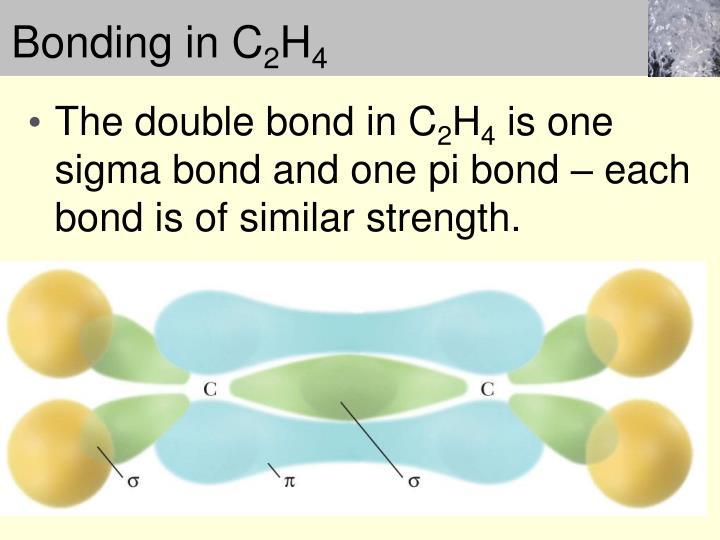 Bonding in C