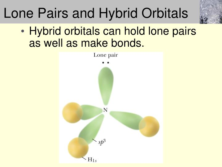 Lone Pairs and Hybrid Orbitals