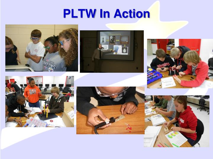 PLTW In Action