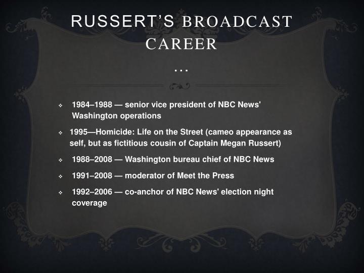 Russert's