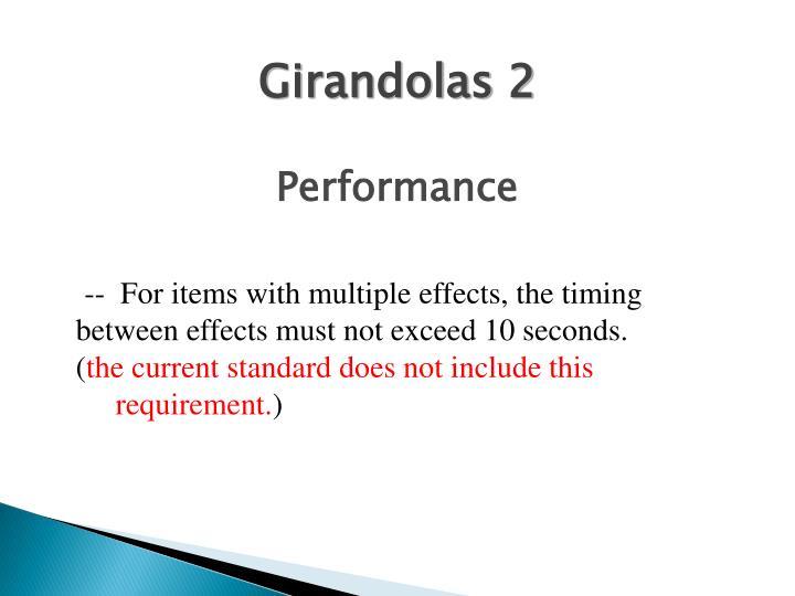 Girandolas 2