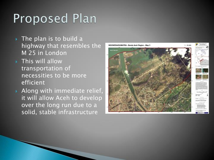 Proposed Plan