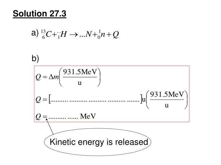 Solution 27.3