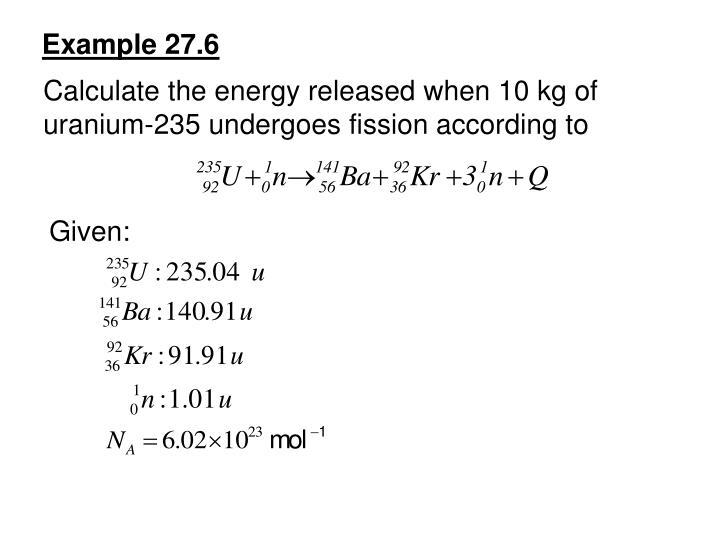 Example 27.6