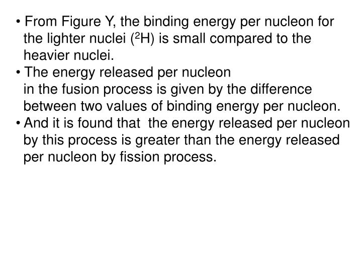 From Figure Y, the binding energy per nucleon for