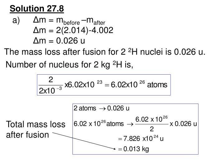 Solution 27.8