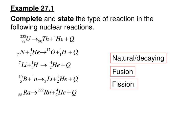 Example 27.1