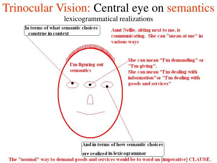 Trinocular Vision: