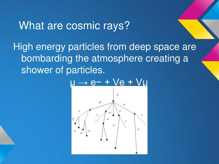 What are cosmic rays