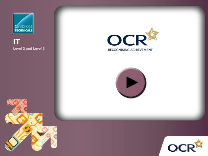 ocr nationals lost coursework This presentation can be used as an electronic resource to understand the course requirements for achieving ocr nationals unit one ocr national unit 1 back.