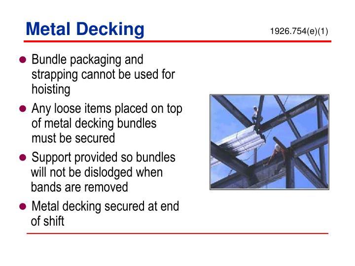 Metal Decking