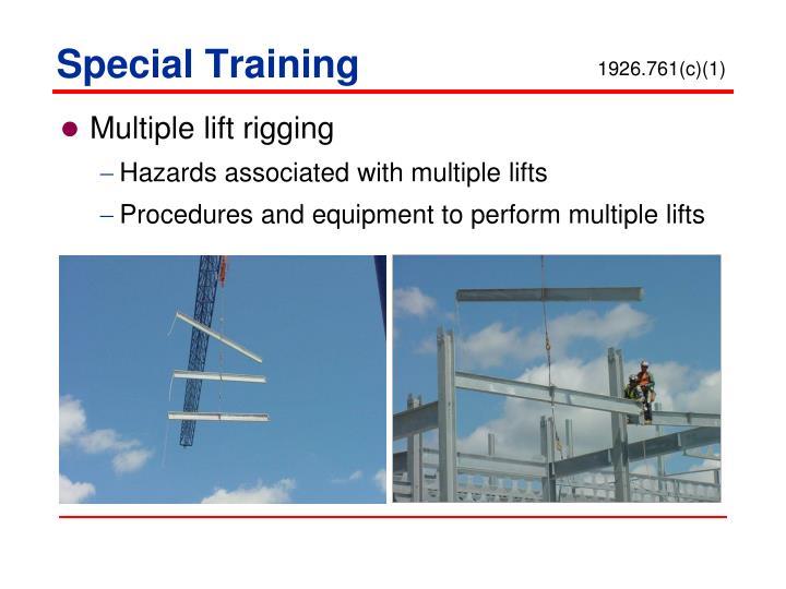 Special Training