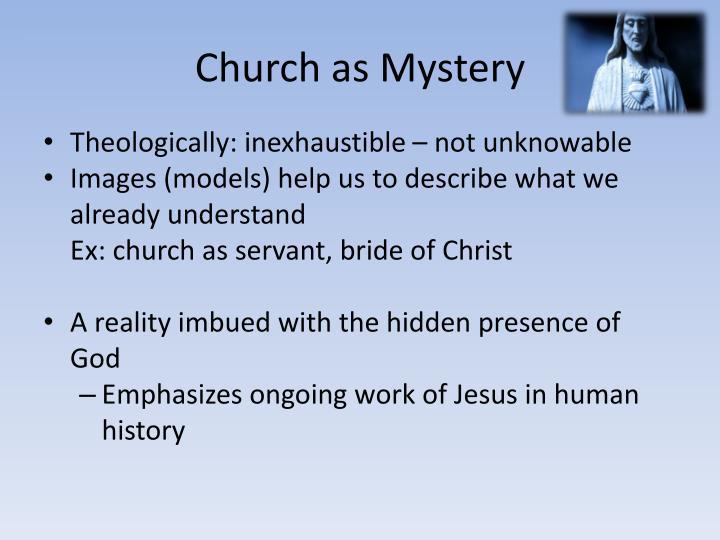 Church as Mystery